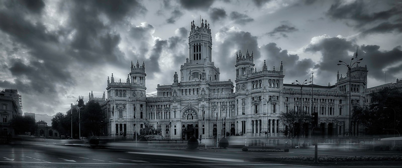 Plaza de Cibeles; Madrid; Spain