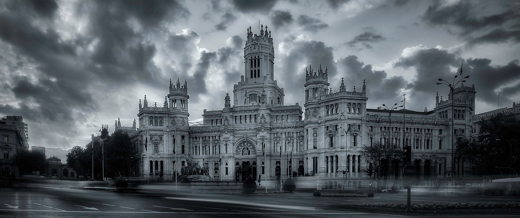 Plaza de Cibeles; Madrid; Spain