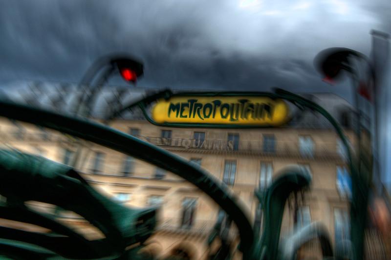 Metropolitain; Paris; France