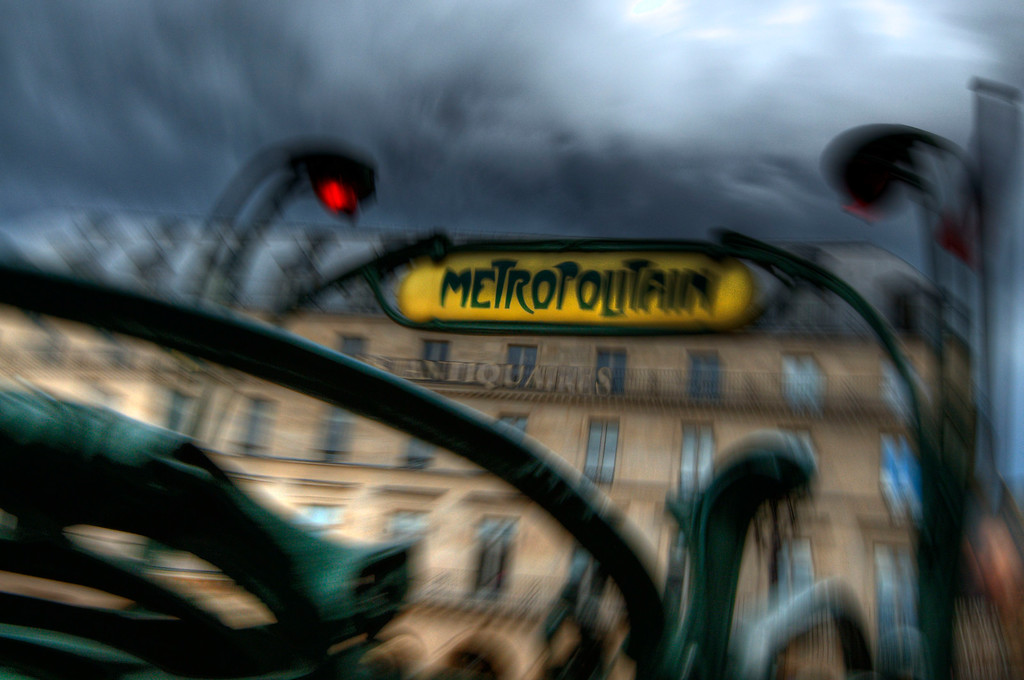 Metropolitain; Paris; France