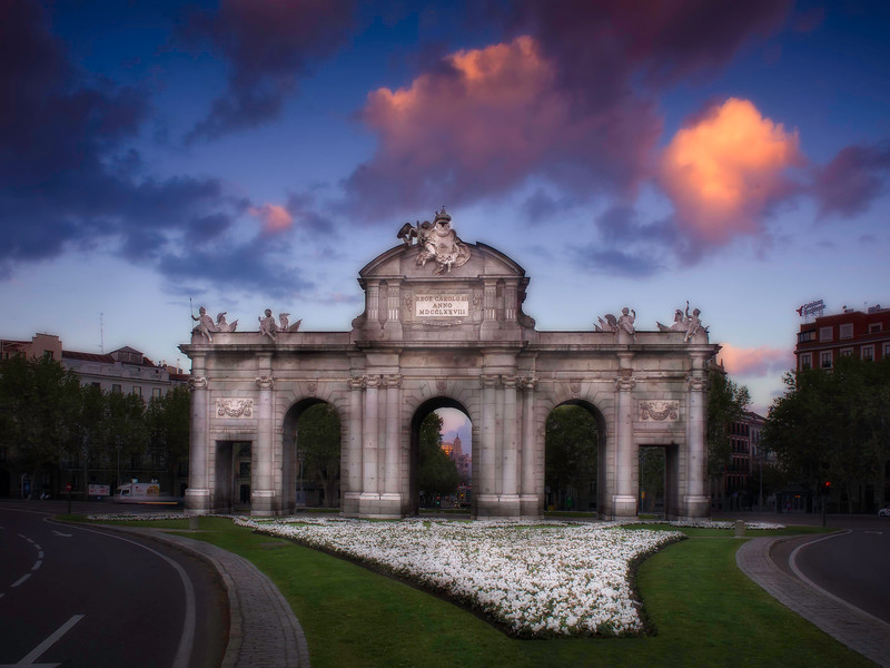Puerta de Alcala; Madrid; Spain
