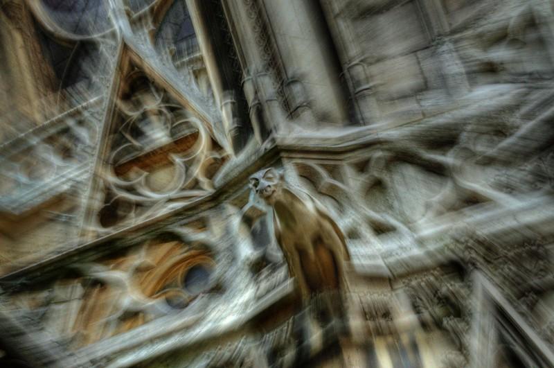 Gargoyle; Notre Dame; Paris; France