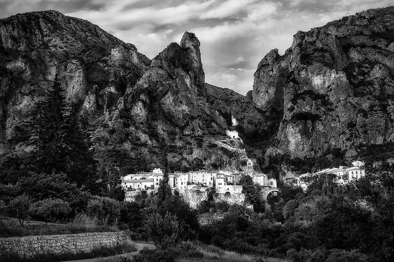 Moustiers Sainte-Marie; Gorge du Verdon; Alpes-de-Haute-Provence; France
