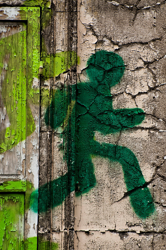 Emergency Exit; Graffiti; Paris; France