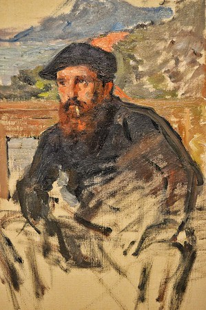 """Claude Monet Self-Portrait in His Atelier"" 1884 - Musée Marmottan Monet - Paris"