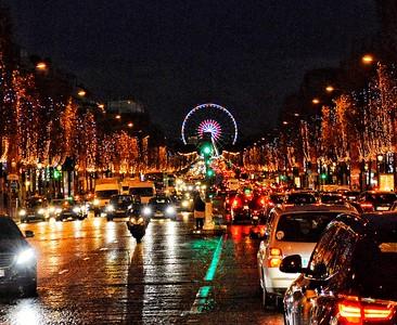 """""""Wet Bustle"""" - Champs-Élysées - Paris"""