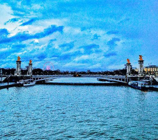"""""""La Magnifique Seine dans les Nuages - The Magnificent Seine in the Clouds"""" - Paris"""