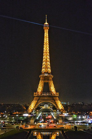 """World's Best Night Light"" - Paris"