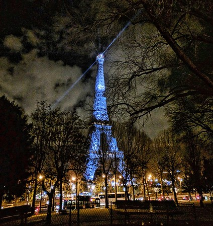 Blue Wonder - Eiffel Tower - Paris