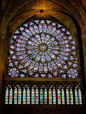 """Colourful Lady"" - Notre Dame - Paris"