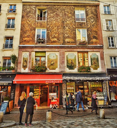 """Rue Mouffetard"" - Paris"