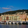 Port of Nice, Mont Boron in the background