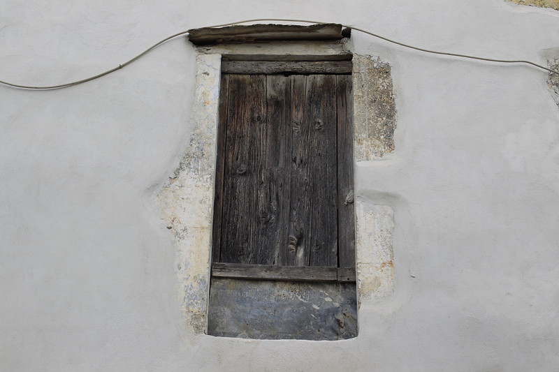 A very old and rotting doorway in a very old building in the village of Vamos on the Greek island of Crete. Photo by Doug Oakley