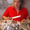 Sausage seller- Annecy<br /> DSC_0082