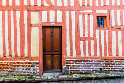 France-Normandie-Honfleur-Timber Framed Buildings