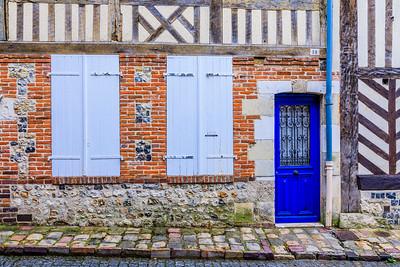 France-Normandie-Honfleur-Timber Framed Buildings