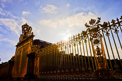 Main Gate at Palace of Versailles