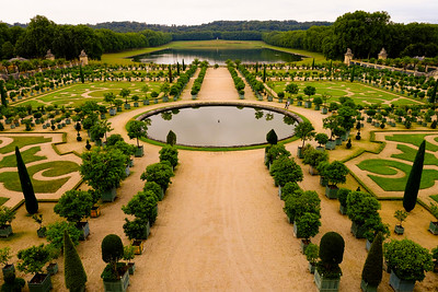 Garden at Palace of Versailles - France