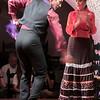 Flamenco performance at club on La Rambla.