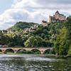 Chateau Castelnaud from Dordogne River