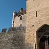 Entrance to Beynac Castle