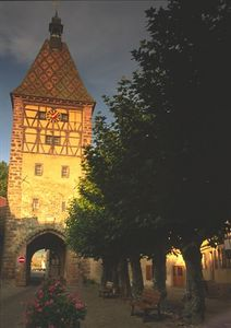 Town gate, Bergheim