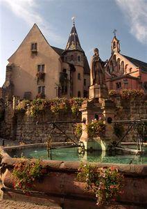 Town square, Eguisheim