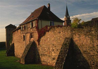 Town walls, Bergheim