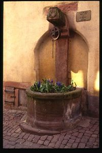 Ancient well, Riquewihr