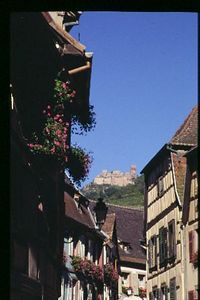 Ribeauville and Chateau St Ulrich