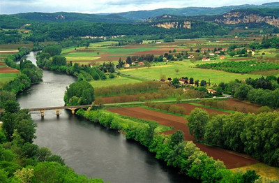 Dordogne River from the village of Domme