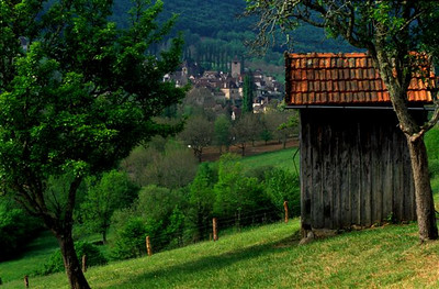 Overlooking Loubressac