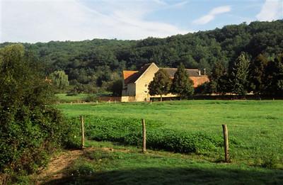 Countryside near Abbaye de Noirlac