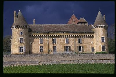 Passing Storm Chateau Rully, Rully, Burgundy