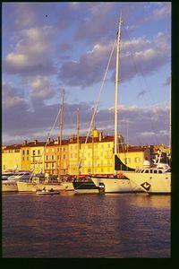 Twilight Sky, St Tropez, Provence