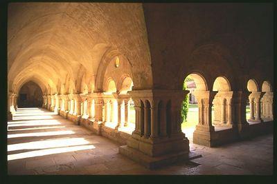 Abbey de Fontenay Cloister, Burgundy