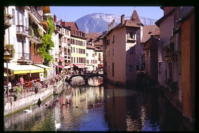 Riverfront, City of Annecy, Savoir