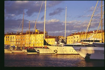 Harbor Twilight, St Tropez, Provence