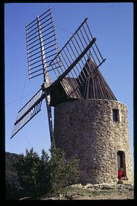 Little Girl's Windmill, Gremond, Provence