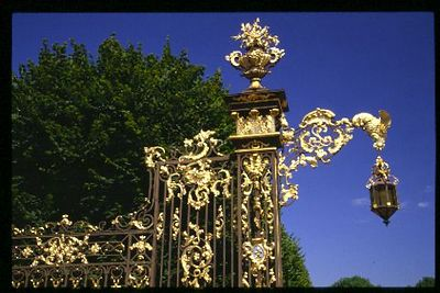 Palais Ducal Gate, Nancy