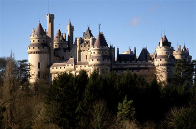 Chateau in Pierrefond