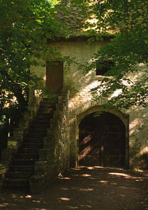 "'Witches cottage"" at Chateau de Meillant in Berry"