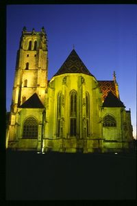 Brou abbey, church asp, Bourg-en-Bresse