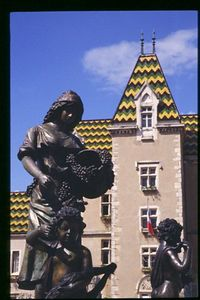 Statue in the Cote d'Or, Burgundy
