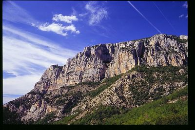 Cliffs overlooking the Gourge du Verdon