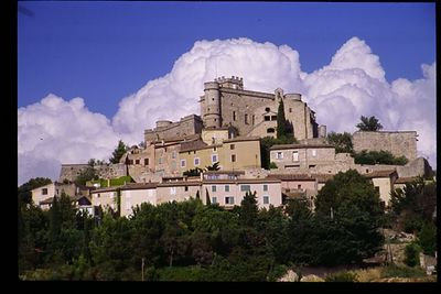 Fortified town of Le Barroux