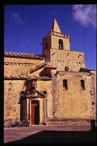 Town church in Venasque
