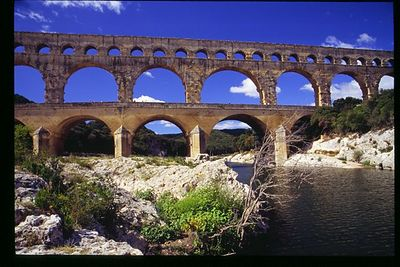 Pont du Gard - horizontal