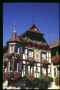 Typical Alsatian House