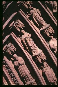 Main Cathedral Door detail